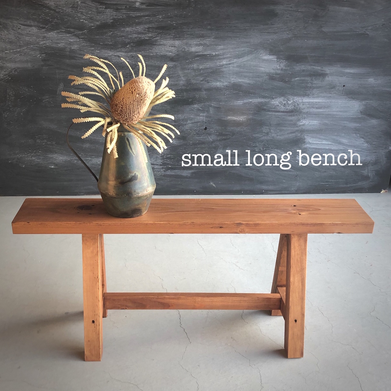 Let's DIY! small long bench 第2弾!