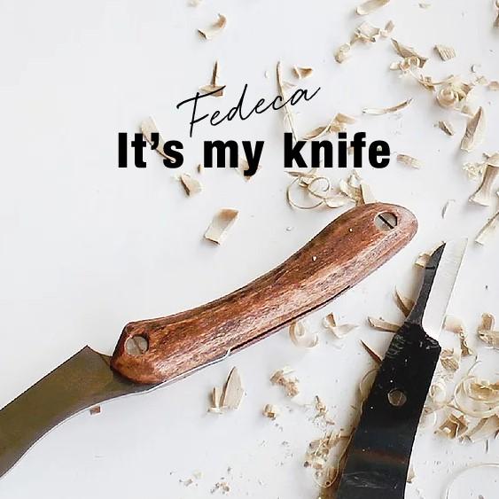 『It's my knife』 削るって面白い。まずは道具を作ろう。
