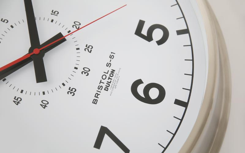 ダルトンの時計。